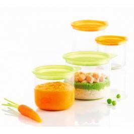 Pojemniki plastikowe na żywność dla dzieci MASTRAD 4 szt.