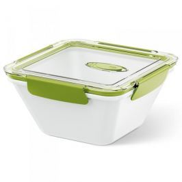 Lunch box plastikowy EMSA BENTO BOX BIAŁY DUŻY BIAŁY 1,5 l