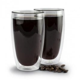 Szklanki termiczne do kawy i herbaty z podwójną ścianką szklane AMBITION AM MIA 450 ml 2 szt.