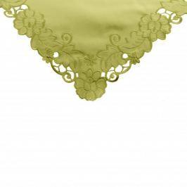 Obrus na stół poliestrowy MISS LUCY ZIELONY 85 x 85 cm