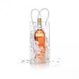 Torba chłodząca na butelkę wina plastikowa AMOCSET BIAŁA