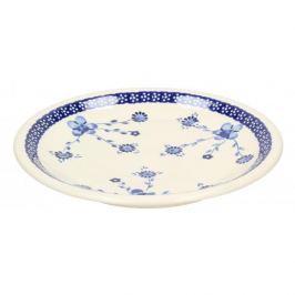 Talerz obiadowy płytki ceramiczny GU-1001 DEK. 273 Bolesławiec 24,5 cm