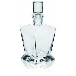 Karafka do whisky i nalewek szklana z korkiem KROSNO CARO 0,8 l
