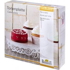 Patera stała na ciasto metalowa BIRKMANN CAKE COUTURE M 23 cm - stojak na tort