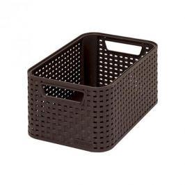 Koszyk plastikowy CURVER STYLE S BRĄZOWY