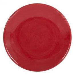 Talerz deserowy porcelanowy AMBITION HAPPY RED 20 cm