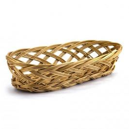 Koszyk na chleb i pieczywo wiklinowy DUŻY 34,5 x 17 cm