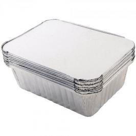 Foremki aluminiowe do pieczenia z pokrywką TALA STAMPO 10 szt.