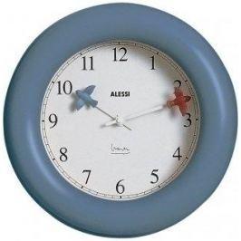 Zegar ścienny plastikowy ALESSI NIEBIESKI