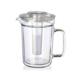 Dzbanek do herbaty szklany z zaparzaczem SIMAX DUAL MIX KOLORÓW 1 l