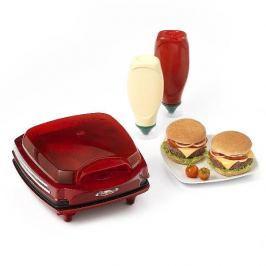 Urządzenie do hamburgerów ARIETE PARTY TIME CZERWONE 1200 W