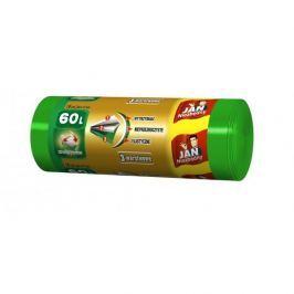 Worki na śmieci zawiązywane 60 l JAN NIEZBĘDNY EKO 20 szt.