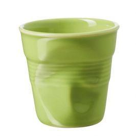 Kubek do espresso porcelanowy REVOL FROISSES WERBENA ZIELONY 80 ml
