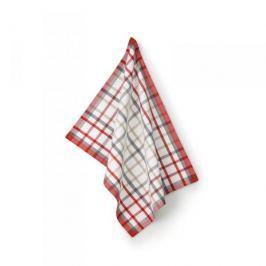 Ręcznik kuchenny bawełniany KELA FRIDA ARENA WIELOKOLOROWY 50 x 70 cm