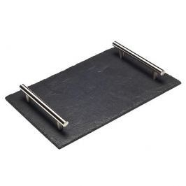 Taca kamienna SLATEPLATE NATURAL UCHWYT I 30 x 20 cm