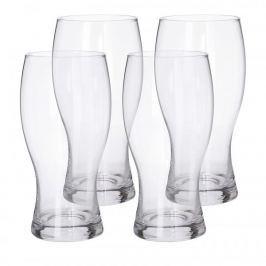 Szklanki do piwa szklane KROSNO BEER 4 szt. 500 ml