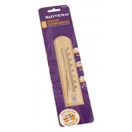Termometr pokojowy/ wewnętrzny drewniany BIOTERM JASNY