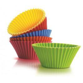 Foremki do pieczenia muffinek i babeczek silikonowe SILICONE ZONE BIG 6 szt.