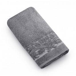 Ręcznik kąpielowy bawełniany MISS LUCY MARTYNIKA SZARY 70 x 140 cm