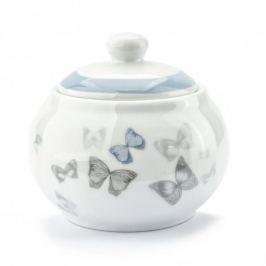 Cukiernica porcelanowa FLORINA BUTTERFLY BIAŁA 300 ml