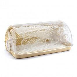 Chlebak plastikowy ROLL DUŻY BEŻOWY