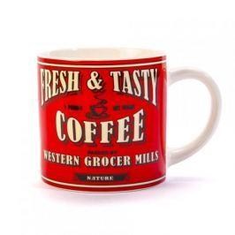 Kubek ceramiczny boss z napisem DUO ALL COOL COFFEE RED 400 ml