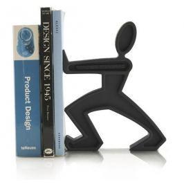 Podpórka do książek ze stali nierdzewnej BLACK BLUM JAMES CZARNA