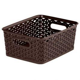 Koszyk plastikowy CURVER MY STYLE S BRĄZOWY