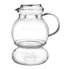Dzbanek do herbaty i kawy szklany z podgrzewaczem TERMISIL KULA 1,5 l