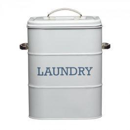 Pojemnik na proszek do prania stalowy KITCHEN CRAFT LAUNDRY SZARY