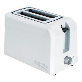 Toster / Opiekacz do kanapek elektryczny plastikowy CAMRY PREMIUM BIAŁY 750 W
