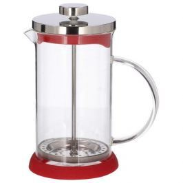 French press / Zaparzacz do kawy tłokowy szklany PETERHOF MIX KOLORÓW 0,6 l