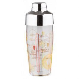 Shaker barmański do drinków i koktajli szklany z podziałką LUMINARC 0,4 l