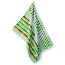 Ręcznik kuchenny bawełniany KELA AMALIE ZIELONY W PASY 70 x 50 cm