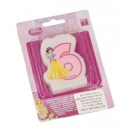 Świeczka urodzinowa na tort dla dzieci DISNEY KSIĘŻNICZKI ŚNIEŻKA 6