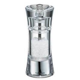 Młynek do soli akrylowy ręczny ZASSENHAUS AACHEN 14 cm