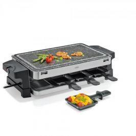 Grill elektryczny raclette plastikowy KUCHENPROFI BASIC CZARNY 1500 W