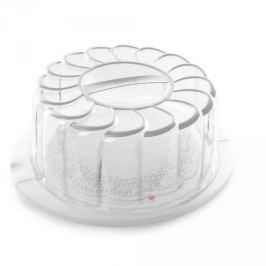 Pojemnik na ciasto plastikowy SNIPS CAKE OKRĄGŁY BIAŁY 30 cm