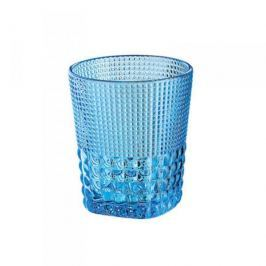 Szklanka do napojów szklana CILIO CRYSTAL LINE NIEBIESKA 300 ml