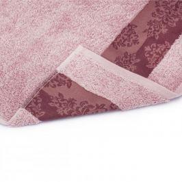 Ręcznik łazienkowy bawełniany MISS LUCY ALINDA RÓŻOWY 50 x 90 cm