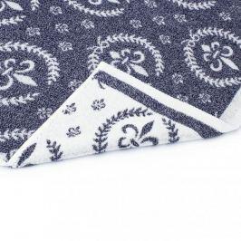 Ręcznik kąpielowy bawełniany MISS LUCY CHILAC BIAŁY 70 x 140 cm