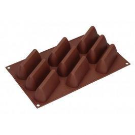 Forma do 9 czekoladek silikonowa SILIKOMART GIANDUIOTTO BRĄZOWA
