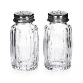 Solniczka i pieprzniczka szklane SALERO
