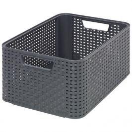 Koszyk plastikowy CURVER STYLE M SZARY