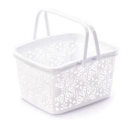 Koszyk plastikowy BASKET BIAŁY