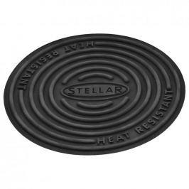 Podkładka pod garnek silikonowa STELLAR HEAT RESISTANT CZARNA 13 cm