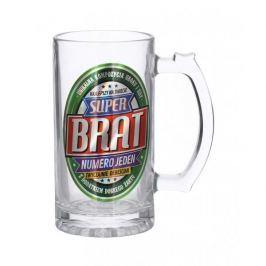 Kufel do piwa szklany PAN DRAGON SUPER BRAT 0,5 l