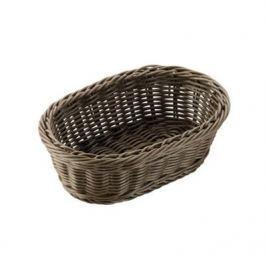 Koszyk na chleb i pieczywo plastikowy TESCOMA FLAIR OWALNY MIX KOLORÓW 23,5 x 15,5 cm