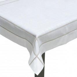 Obrus na stół poliestrowy FLORENCE KREMOWY 150 x 300 cm