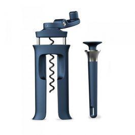 Zestaw korkociąg / otwieracz do wina i magnetyczny otwieracz do butelek ze stali nierdzewnej JOSEPH JOSEPH